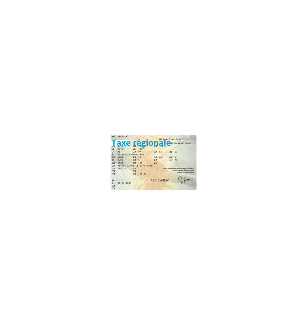 carte grise plus de 10 ans Carte grise CTTE taxe 7cv plus de 10 ans GO ou ES ile de France